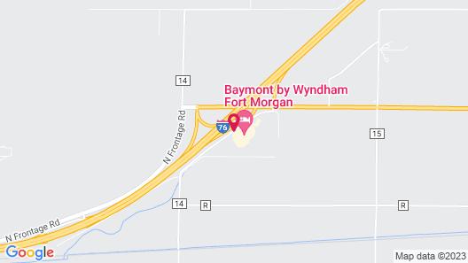 Baymont by Wyndham Fort Morgan Map