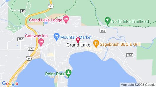 Grand View Mountain Lodge Map
