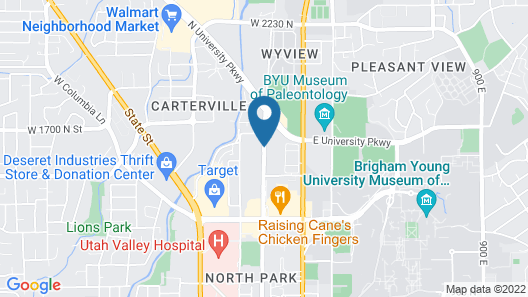 SpringHill Suites by Marriott Provo Map