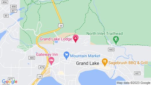 Grand Lake Lodge Map