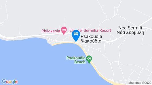 Cronwell Resort Sermilia - Ultra All Inclusive Map
