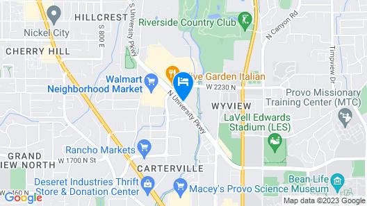 Baymont by Wyndham Provo River Map