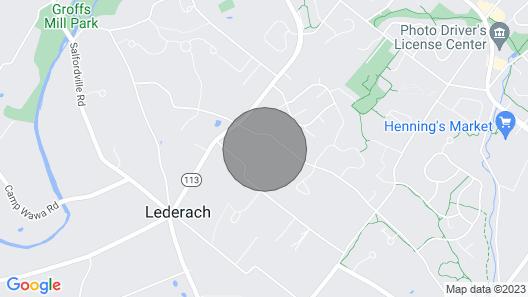 Fieldstone Farmhouse/ Guest Suite Map