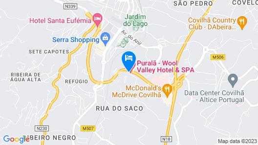 Puralã - Wool Valley Hotel & SPA Map