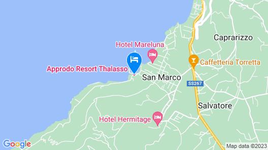 Approdo Resort Thalasso Spa Map