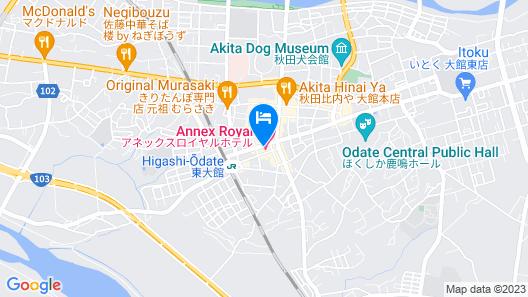 Annex Royal Hotel Map
