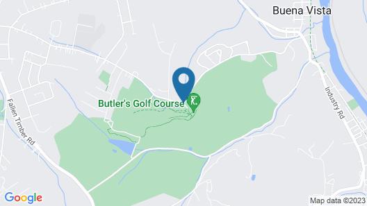 The John Butler House Bed & Breakfast Map