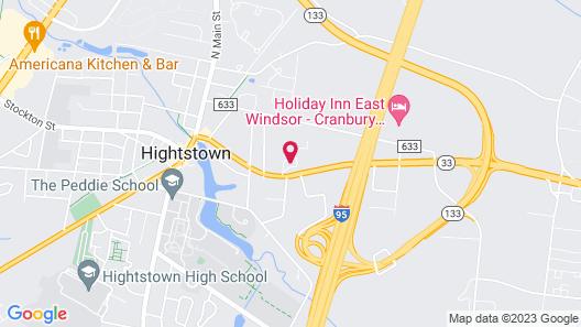 Town House Motel Inn Map