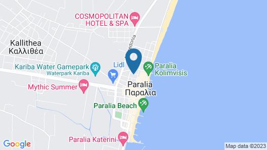 Hotel Villa Pigasos Map