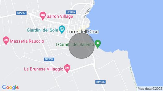 Casa IDA Residence Girasole Map