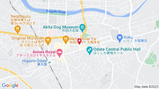 Hotel Shuzanso Map