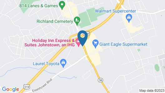 Holiday Inn Express & Suites Johnstown, an IHG Hotel Map