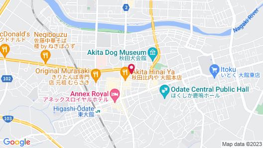 Grand Park Hotel Odate Map