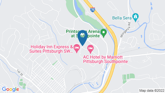 Holiday Inn Express & Suites Pittsburgh SW - Southpointe, an IHG Hotel Map