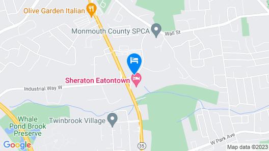 Homewood Suites by Hilton Eatontown Map