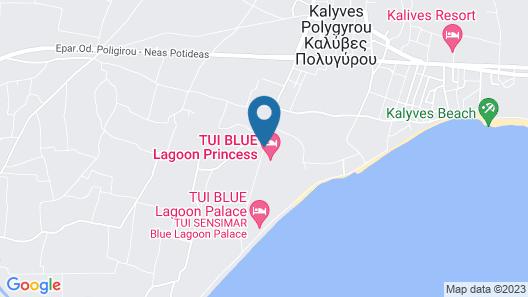 Blue Lagoon Princess - All Inclusive Map