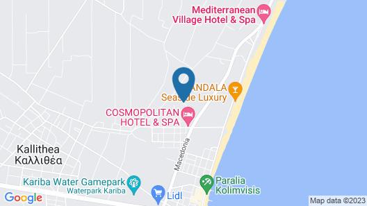 Hotel Lilalo Map