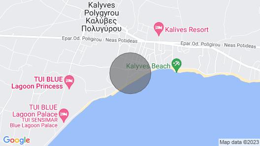 #Luxlikehome Mediterranee Beachfront House Map