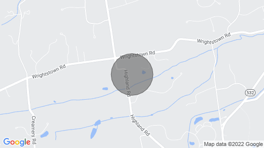 Charming Bucks County Retreat ~ 4 Mi to Downtown! Map