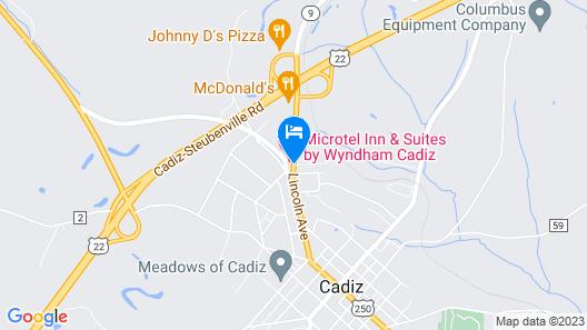 Microtel Inn & Suites By Wyndham Cadiz Map