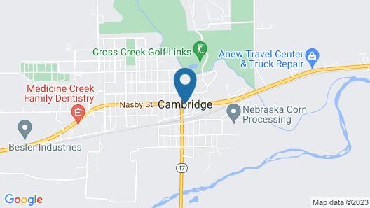 Cobblestone Inn & Suites - Cambridge Map
