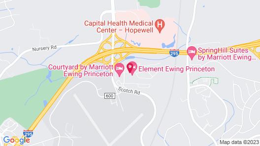 Element Ewing Princeton Map