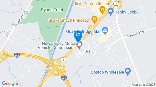 Quality Inn Near Princeton Map