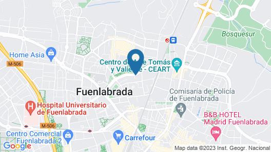 Hotel Avenida de España Map