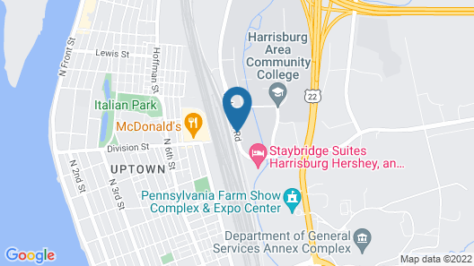 Staybridge Suites Harrisburg Map