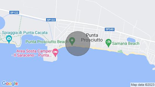 Casa Ida 1A With Veranda Map