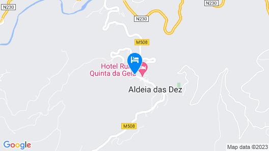 Hotel Rural Quinta da Geia Map