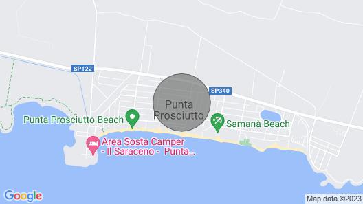 Villa Antonietta - Beach 300m Map