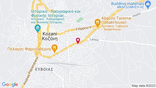 Anesis Hotel Map