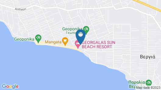 Georgalas Sun Beach Resort Map