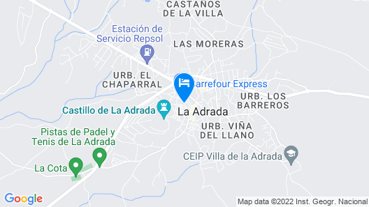Casa del Castillo de la Adrada Apartamentos Map