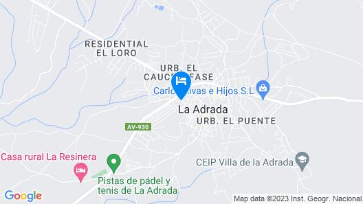 Las Lanchas VUT Map