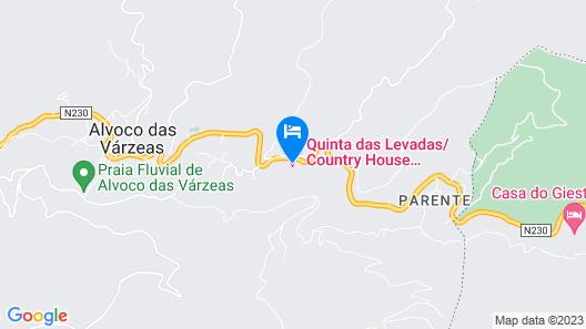 Quinta das Covas Map