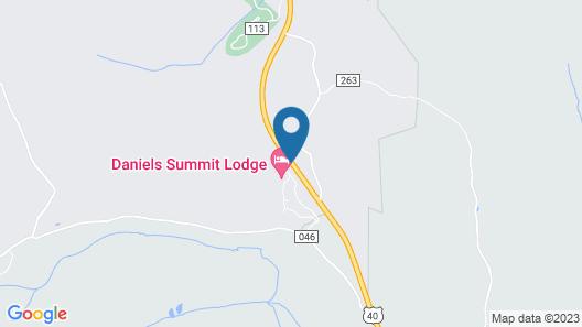 Daniels Summit Lodge Map