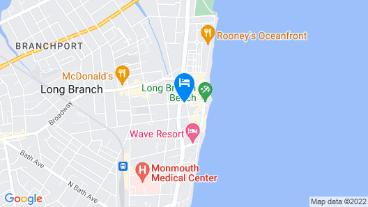 Bungalow Hotel Map