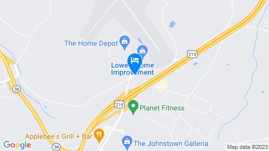 Super 8 by Wyndham Johnstown Map