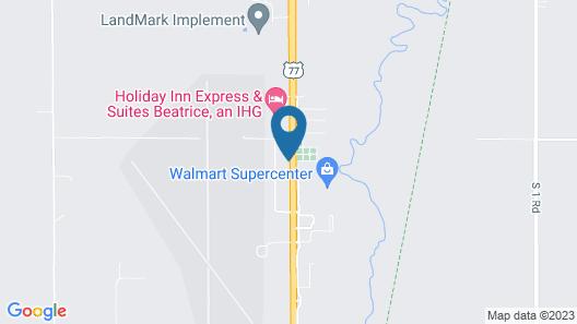 My Place Hotel-Beatrice NE Map