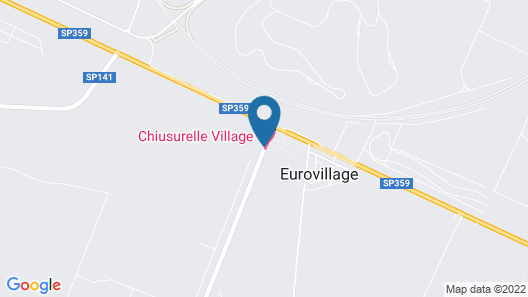 Chiusurelle Village Map