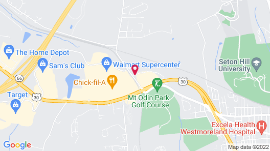 Holiday Inn Express & Suites Greensburg Map