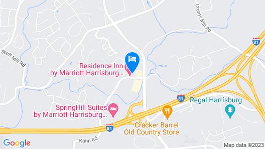 Residence Inn by Marriott Harrisburg North Map