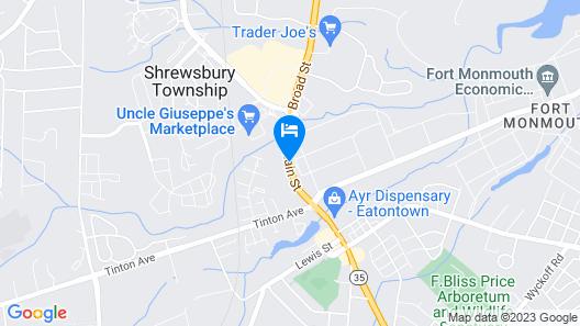 Crystal Inn Eatontown Map