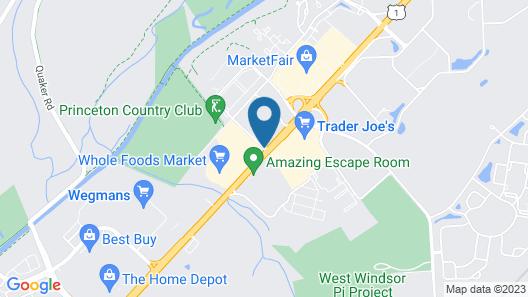 Clarion Hotel Palmer Inn Map