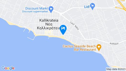 Secret Paradise Hotel & Spa Map