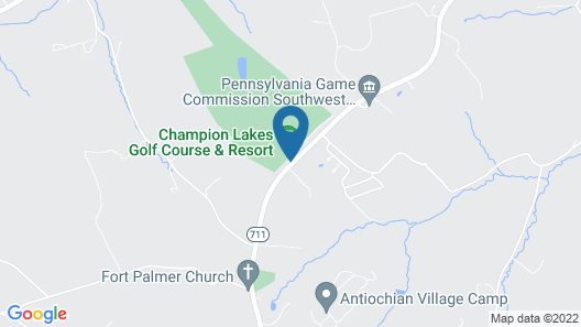Champion Lakes Golf Resort Map