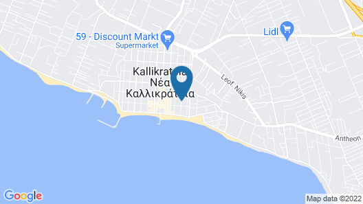 Alkyonis Hotel Map