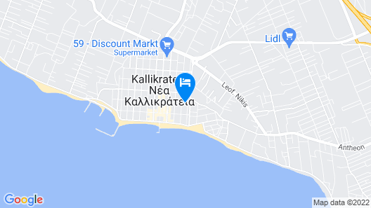 Hotel Cariatis Map